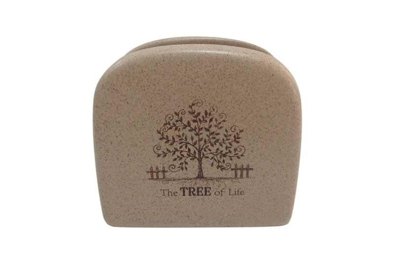 Дерево жизни Салфетница из керамики Terracotta из Китая в обычной упаковке
