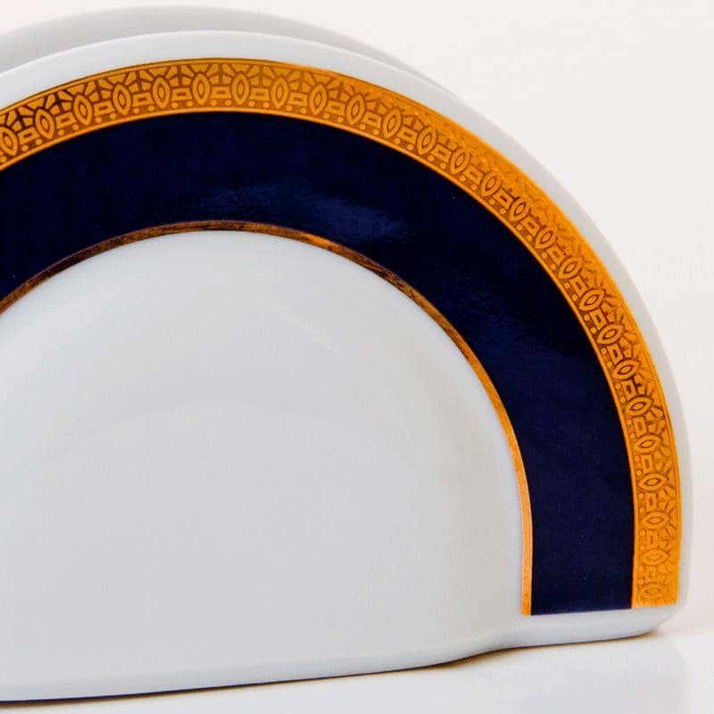 Сапфир 501700 Салфетница из фарфора Thun