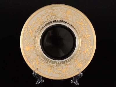 Harmony Crem Black Набор тарелок FalkenPorzellan 21 см (6 шт)
