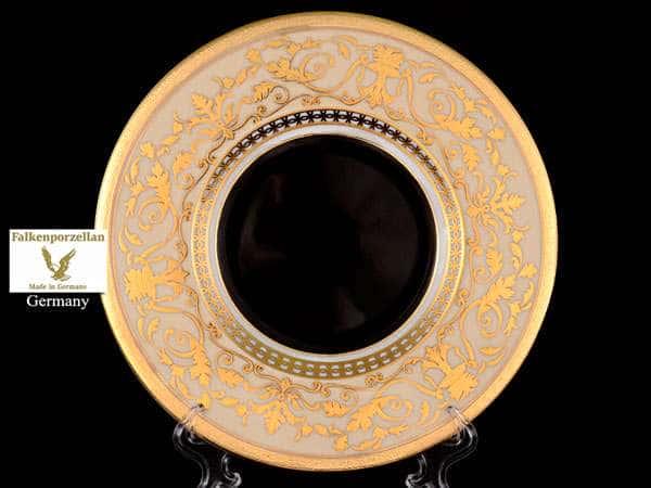 Harmony Crem Black Набор тарелок FalkenPorzellan 27 см (6 шт)