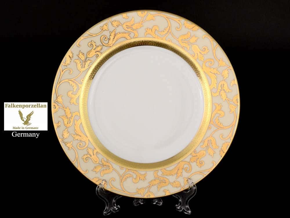 Tosca Creme Gold Набор тарелок FalkenPorzellan 21 см (6 шт)