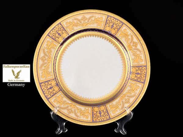 Diadem Violet Creme Gold Набор тарелок FalkenPorzellan 21 см (6 шт)