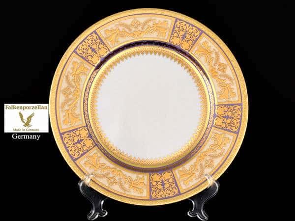 Diadem Violet Creme Gold Набор тарелок глубоких Falken 22 см (6 шт)