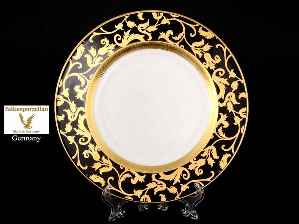 Tosca Black Gold Набор тарелок FalkenPorzellan 21 см (6 шт)