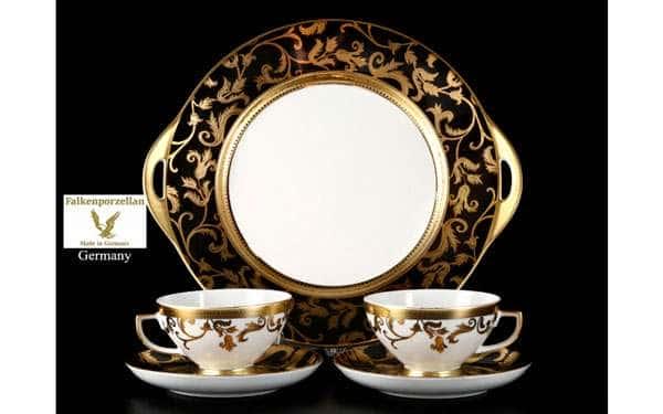 Tosca Black Gold Подарочный набор FalkenPorzellan 5 предметов
