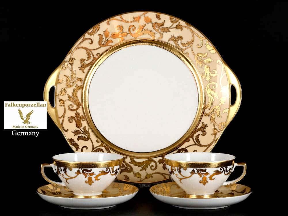 Tosca Creme Gold Подарочный набор Falken 5 предметов