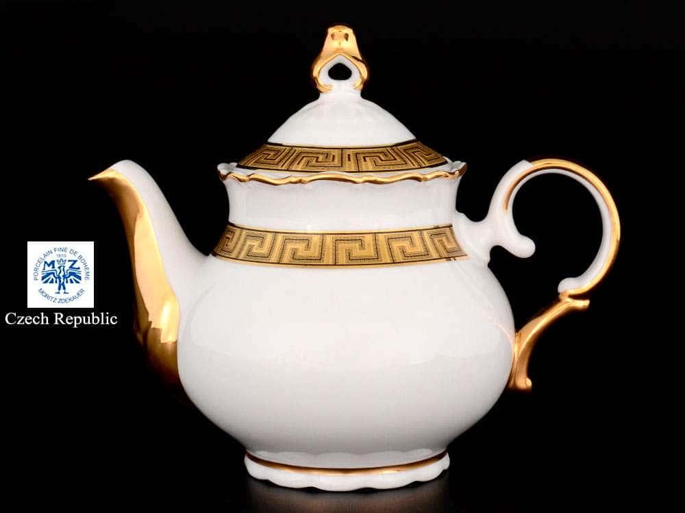 Магнолия Версаче Чайник из фарфора MZ 500 мл