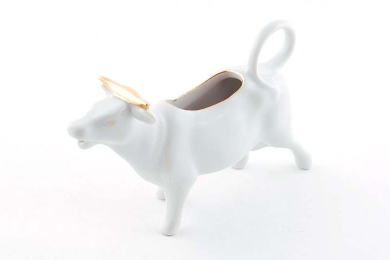 Сливочник-корова 70мл Соната Отводка золото