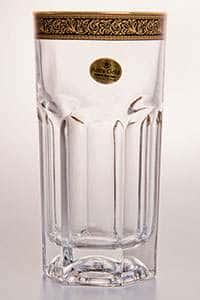 Провенза блэк Набор стаканов для воды Astra Gold 370 мл