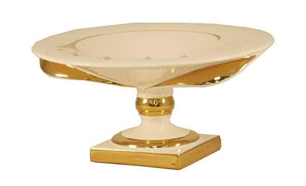 Декоративная ваза 25см , h 11см Вирго Bruno Costenaro Италия
