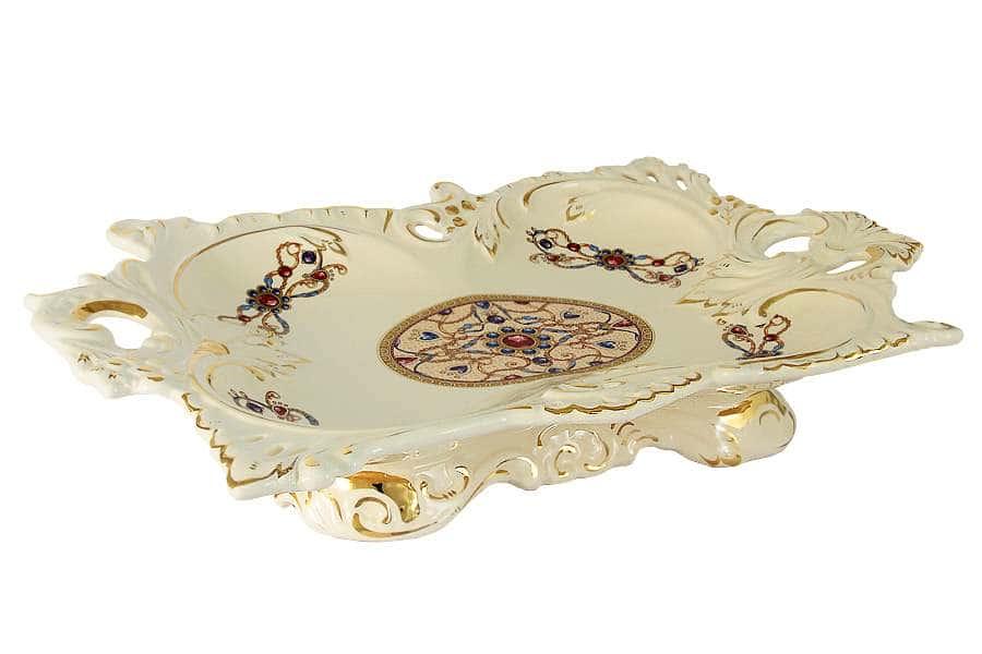 Блюдо декоративное Рубин  Babyzon Dynasty Китай