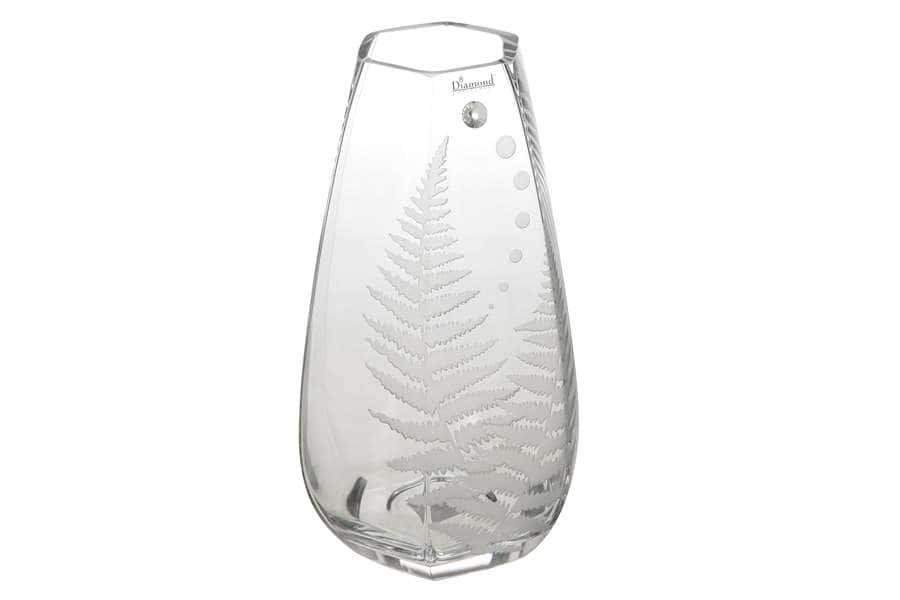 Ваза для цветов Папоротник Deco Glass  Польша