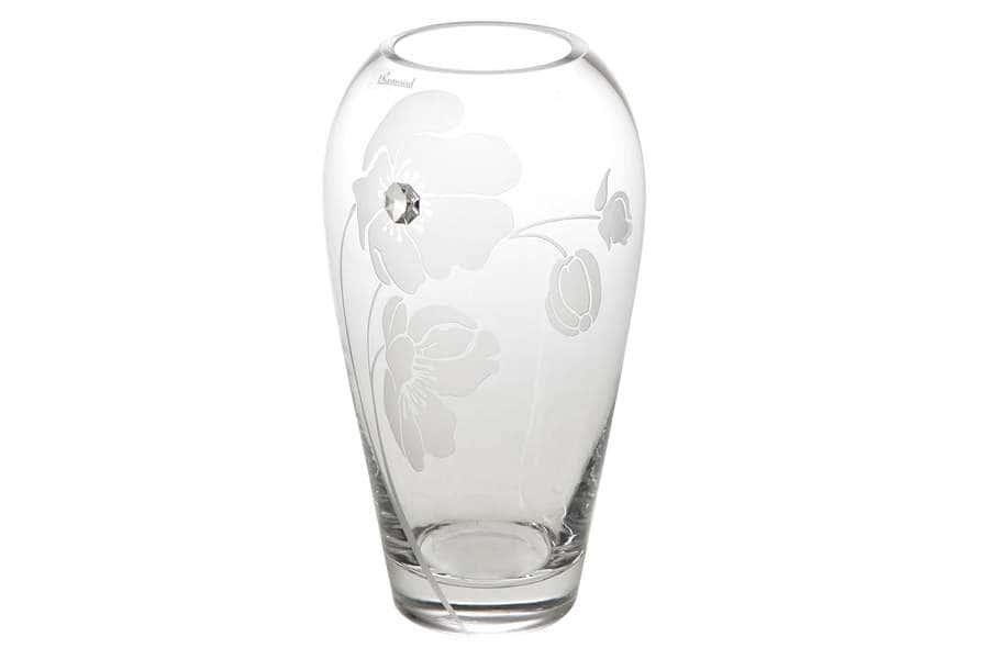 Ваза для цветов Маки Deco Glass Польша
