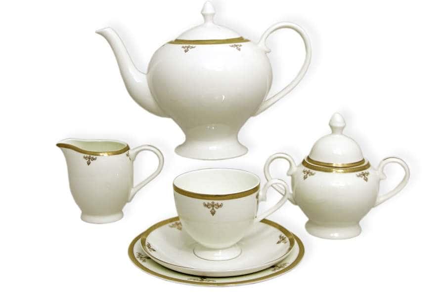Чайный сервиз Ампир 21 предмет на 6 персон