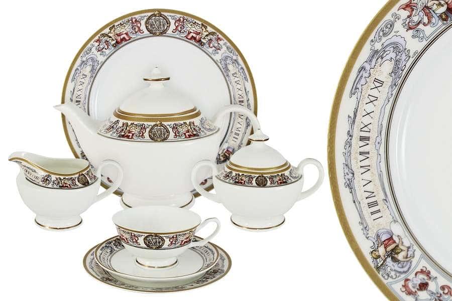 Чайный сервиз 40 предметов на 12 персон Мельпомена