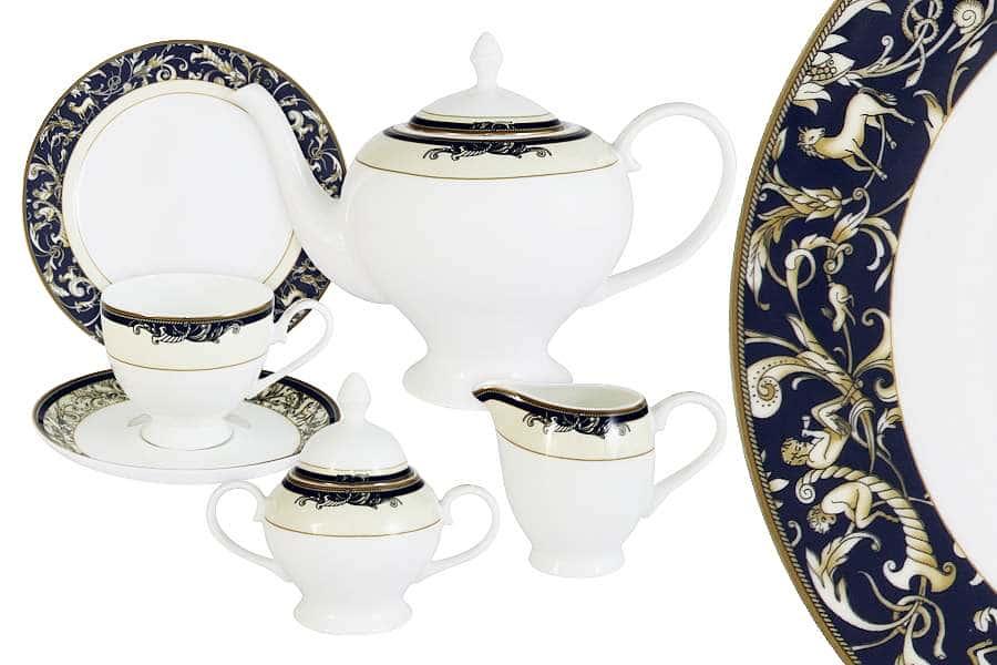Чайный сервиз 21 предмет на 6 персон Олимпия