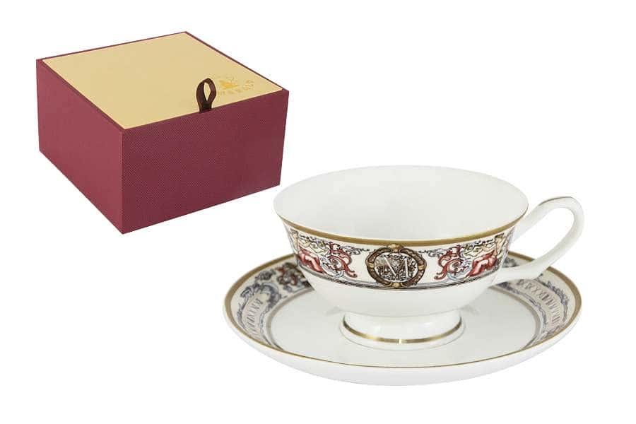 Чашка с блюдцем Мельпомена