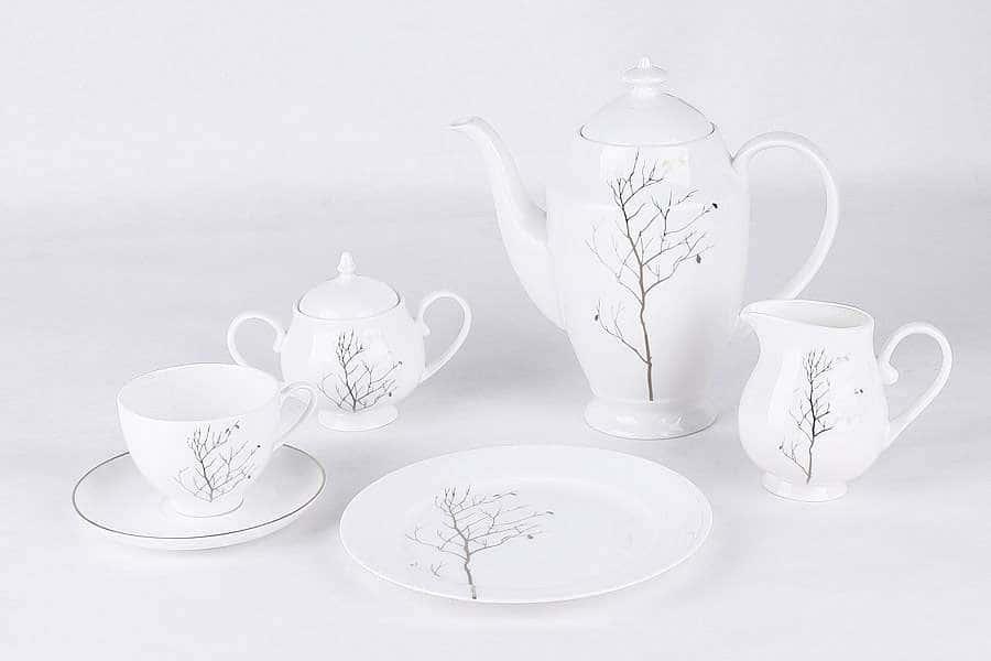 Чайный сервиз Волшебный лес 21 предмет на 6 персон