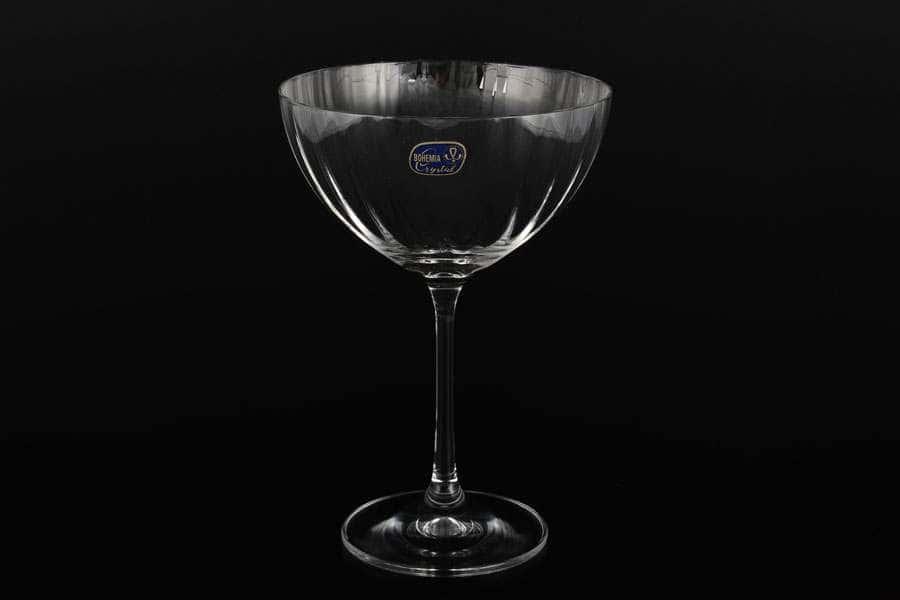 Набор креманок 340 мл (6 шт) Bar-cocktail Bohemia Crystal
