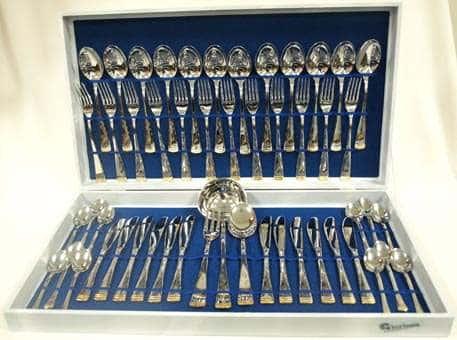 Набор столовых приборов из 51 предмета Gemini Gold Flower
