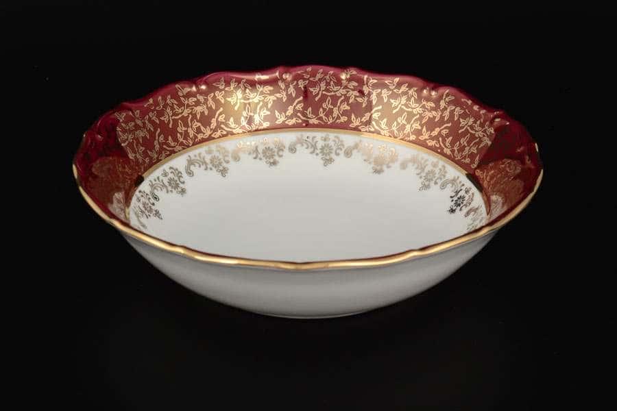 Красная паутинка б/т AL Royal Porcelain Набор салатников 19 см из 6 штук