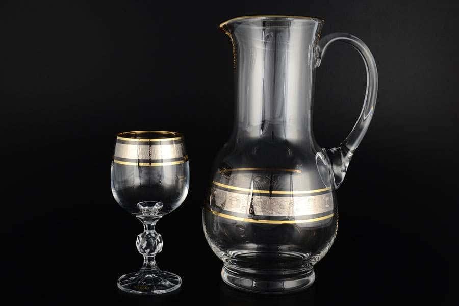 Идеал Панто Кристалайт Набор для винa Kvetna 7 предметов