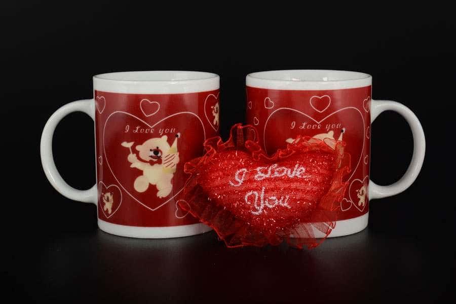 I Love You Набор подарочных кружек 2 шт Royal Classics