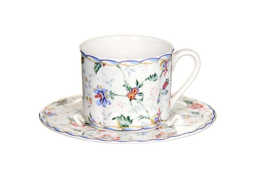 Чашка с блюдцем Букингем