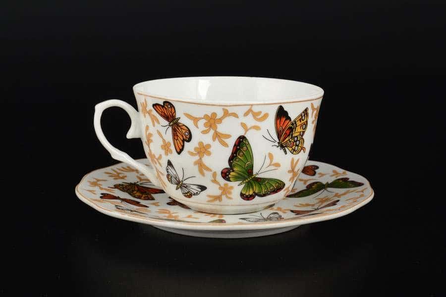 Бабочки Чайный набор Royal Classics на 6 персон 12 предметов
