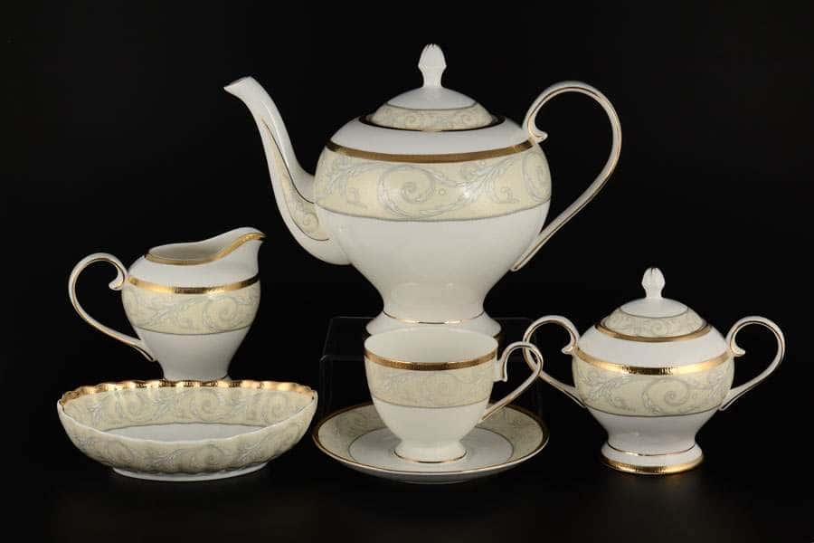 Ноктюрн Чайный сервиз Royal Classics на 12 персон 30 предметов