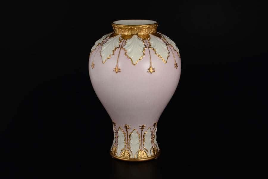 Ваза для цветов CATTIN розовая из фарфора Италия