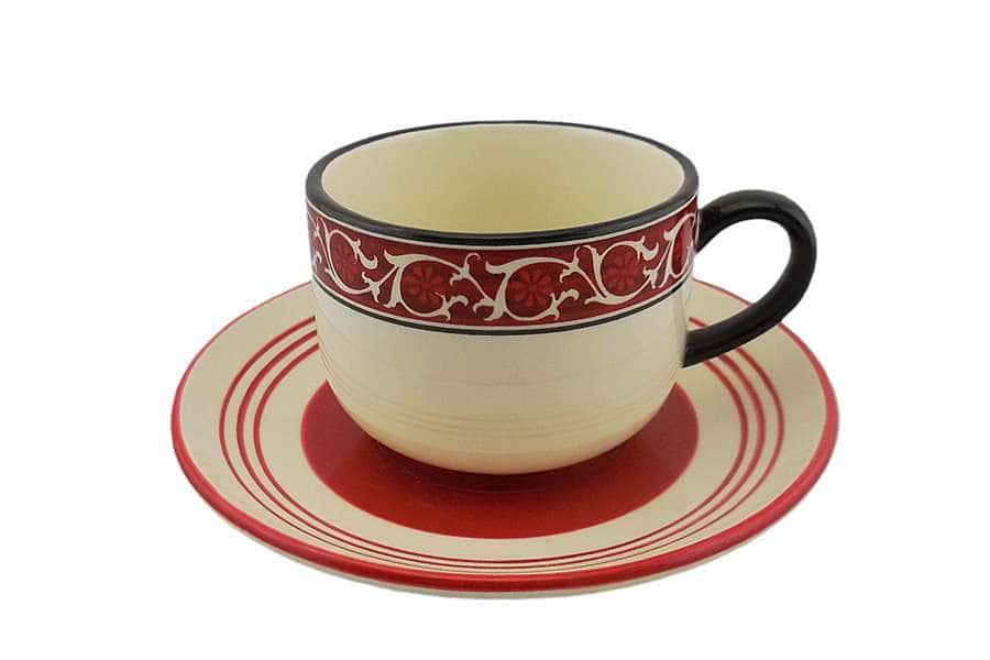 Чашка с блюдцем Шантеклер