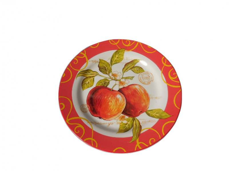 Набор из 2-х тарелок Яблочный дождь