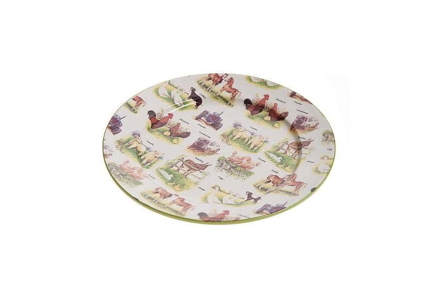 Обеденная тарелка Ферма
