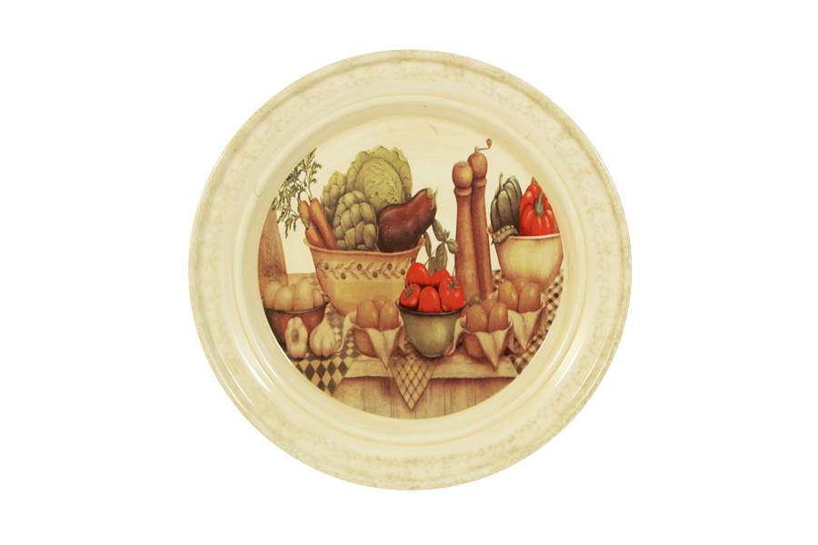 Тарелка закусочная Урожай