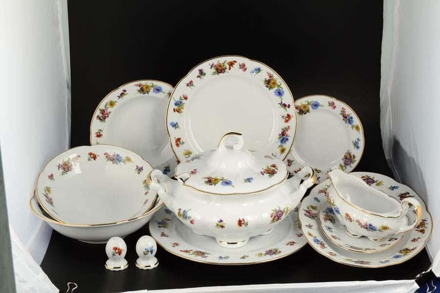 Болеро Весенний букет Столовый сервиз Royal Czech Porcelain на 6 персон 28 предметов