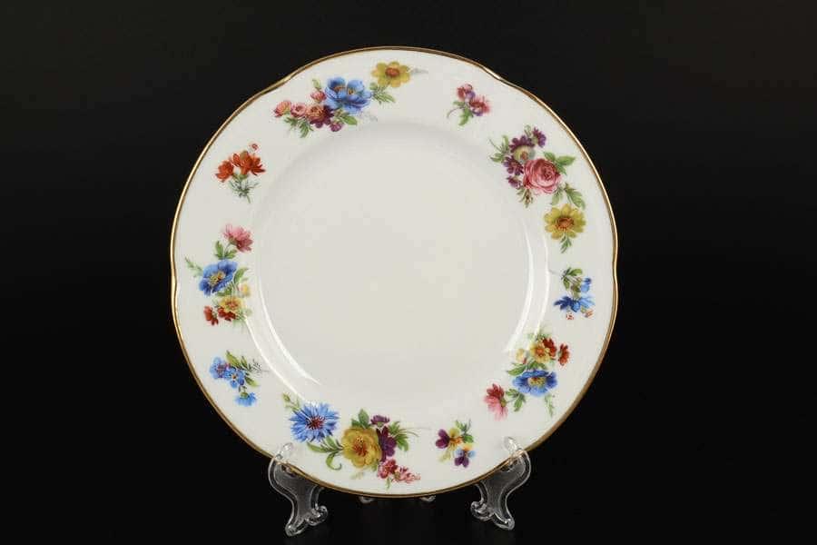 Болеро Весенний букет Набор тарелок Royal Czech Porcelain 19 см