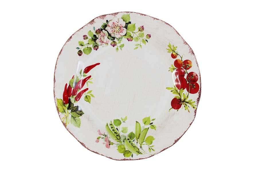 Тарелка обеденная Овощное ассорти