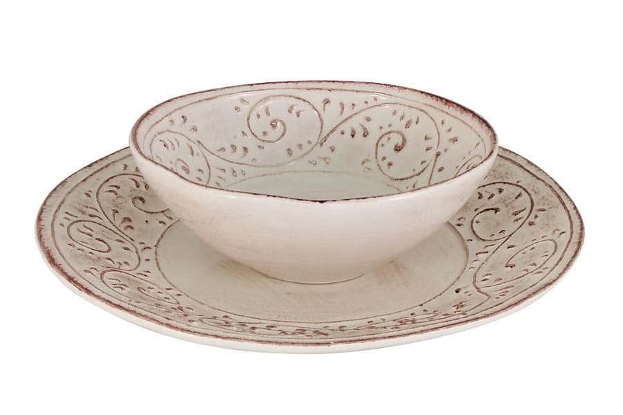 Набор тарелок: суповая + обеденная Медичи LCS