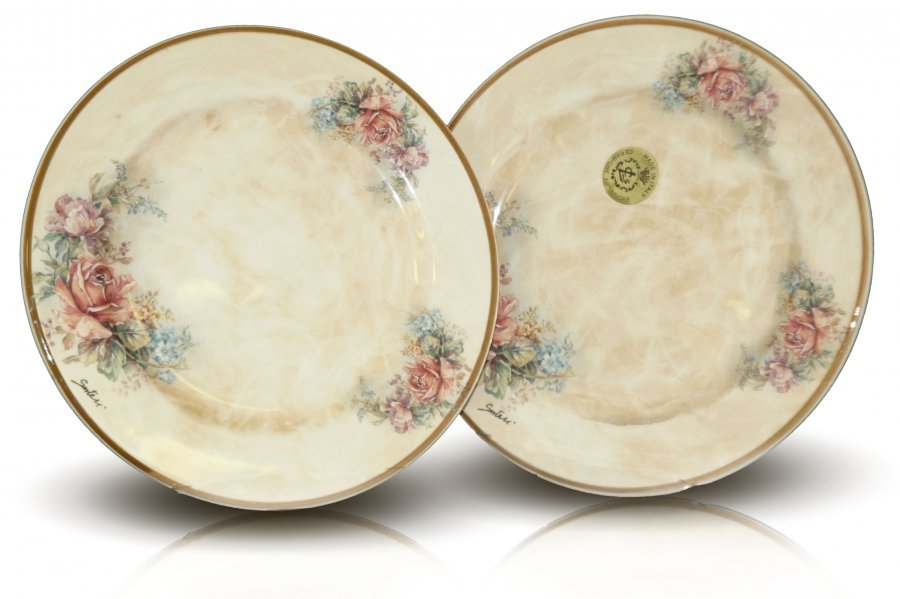 Набор из 2-х десертных тарелок Элианто LCS