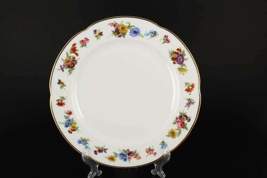 Болеро Весенний букет Набор тарелок Royal Czech Porcelain 25 см