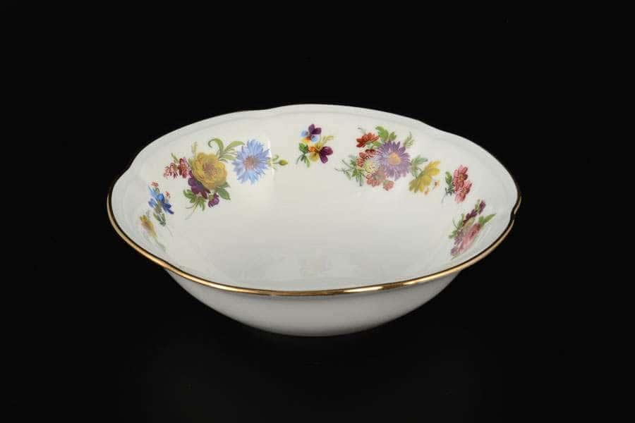 Болеро Весенний букет Набор салатников Royal Czech Porcelain 16 см