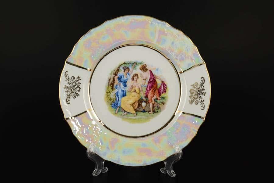 Мадонна Е-М Бернадот Набор тарелок Jeremy 25 см