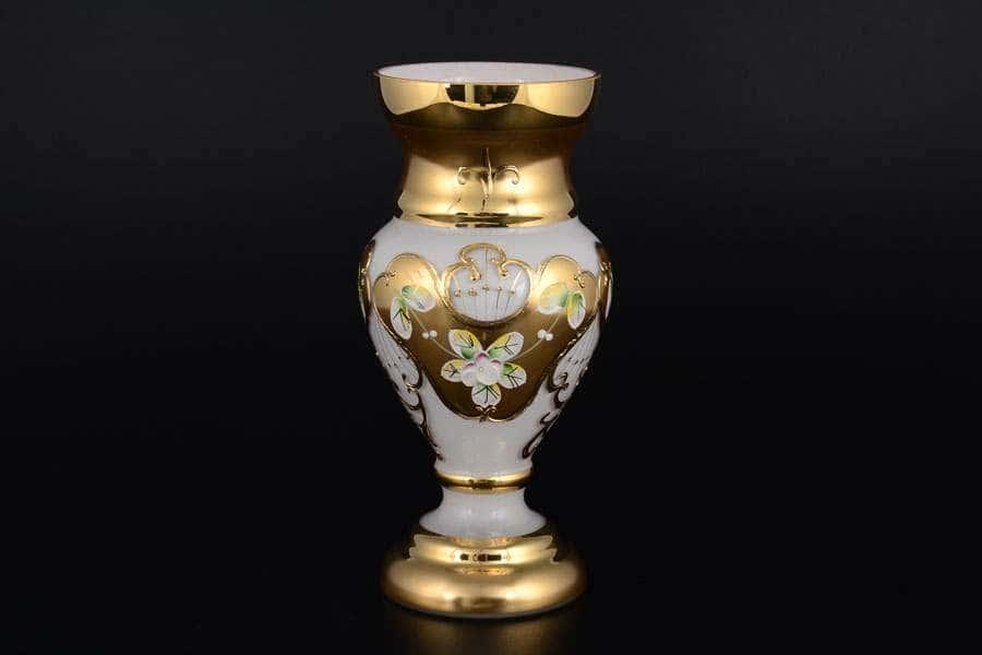 Лепка белая S-A Ваза для цветов Богемия 21 см