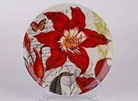 Красная лилия  Тарелка из керамики Waechtersbach 21 см