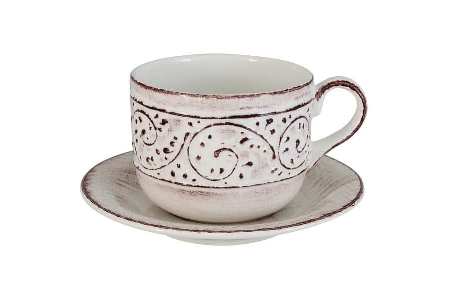Чашка  с блюдцем Медичи