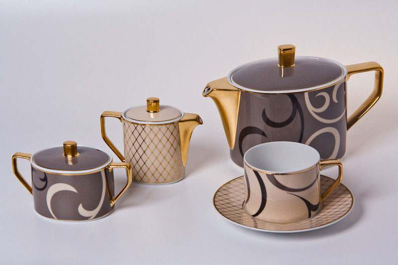 Шахерезада Чайный сервиз Rosenthal на 6 персон 22 предметa