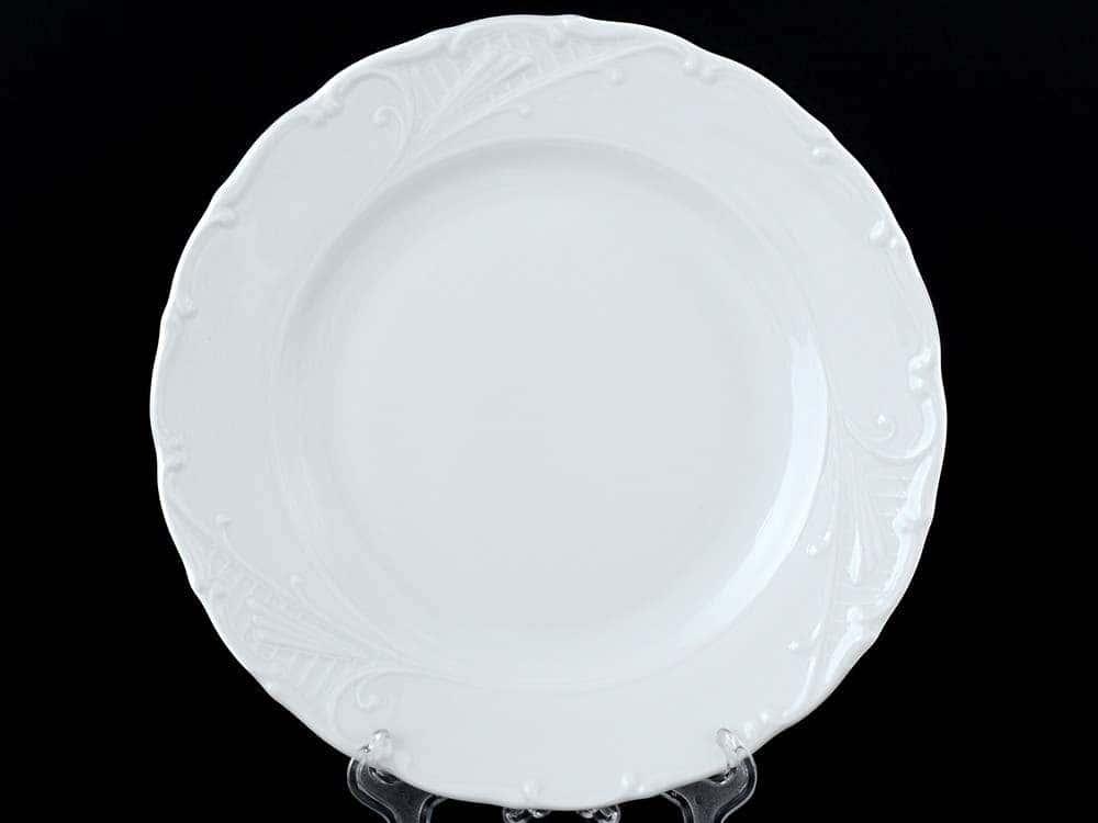Лиана Недекорированный Набор тарелок MZ 25 см