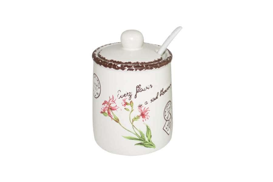 Сахарница с ложкой Воспоминания LF Ceramic  Китай