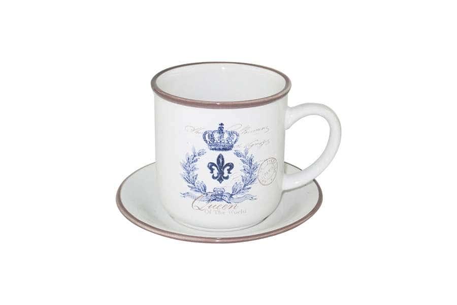 Чашка с блюдцем Королевский LF Ceramic Китай